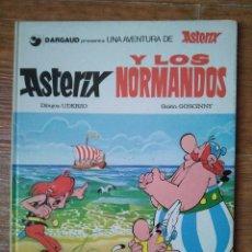 Cómics: ASTERIX Nº 9 Y LOS NORMANDOS EDITORIAL GRIJALBO TAPA DURA. Lote 104018463