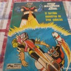 Cómics: (XM)MAZINGER Z. Nº 5. EL TERRIBLE MONSTRUO DE 3 CABEZAS. EDICIONES JUNIOR. GRIJALBO. 1978.. Lote 104026167