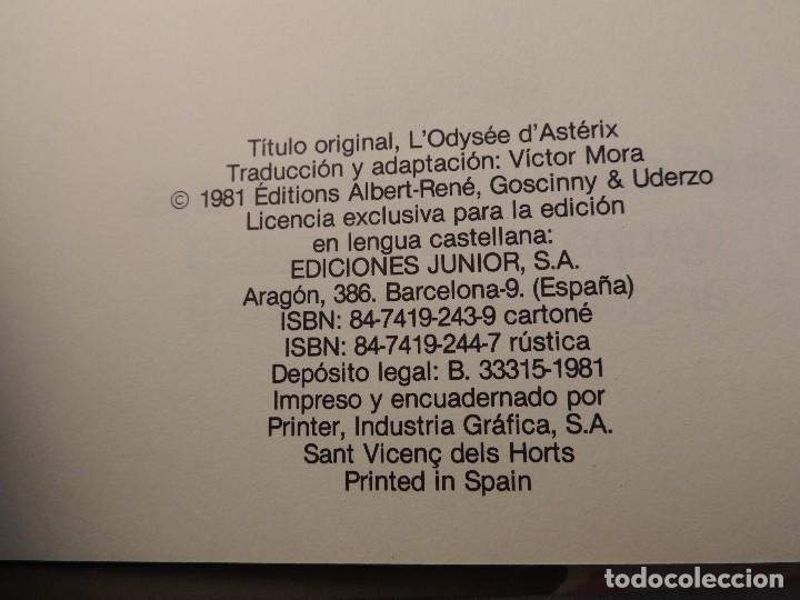 Cómics: LA ODISEA DE ASTERIX - Foto 2 - 148886944