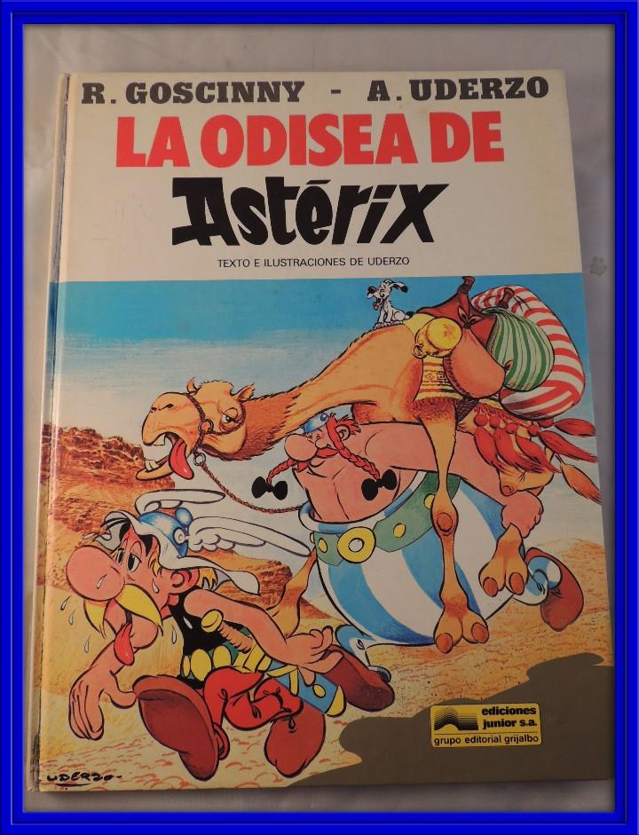 LA ODISEA DE ASTERIX (Tebeos y Comics - Grijalbo - Asterix)