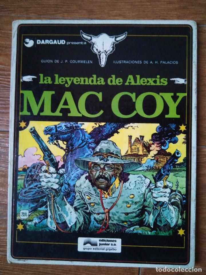 MAC COY Nº 1 LA LEYENDA MAC COY EDITORIAL GRIJALBO ALBUM TAPA DURA 1989 (Tebeos y Comics - Grijalbo - Mac Coy)