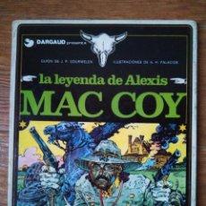 Cómics: MAC COY Nº 1 LA LEYENDA MAC COY EDITORIAL GRIJALBO ALBUM TAPA DURA 1989 . Lote 104176403