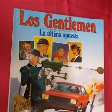Cómics - LOS GENTLEMEN. Nº 2. LA ULTIMA APUESTA. GRIJALBO - 104240023