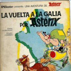 Cómics: VE15-LOTE DE 3 ASTERIX -EN HISPANIA - EN BRETAÑA Y LA VUELTA A LA GALIA DE 1966 Y 1969 . Lote 104473719