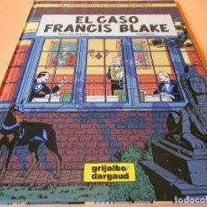 Cómics: EL CASO FRANCIS BLAKE. LAS AVENTURAS DE BLAKE & MORTIMER. IMPECABLE.. Lote 104675247