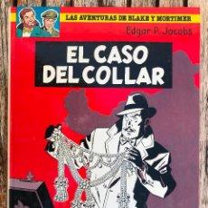 Cómics: EL CASO DEL COLLAR. BLAKE Y MORTIMER Nº 7. AUT. EDGAR P. JACOBS. EDICIONES JUNIOR GRIJALBO AÑO 1986.. Lote 104687271