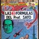 Cómics: LAS 3 FÓRMULAS DEL PROF. SATO. BLAKE Y MORTIMER Nº 8. AUT. EDGAR P. JACOBS. ED. JUNIOR AÑO 1986. Lote 104688079