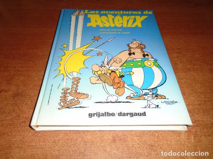 TOMO ASTERIX GRIJALBO Nº 6 CON CUATRO AVENTURAS COMPLETAS (Tebeos y Comics - Grijalbo - Asterix)