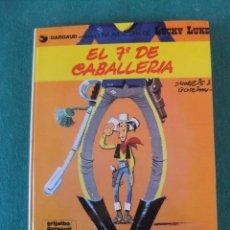Cómics: LUCKY LUKE Nº 7 EL 7º DE CABALLERIA GRIJALBO/DARGAUD TAPA DURA. Lote 105109023