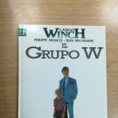 Cómics: LARGO WINCH #2 EL GRUPO W. Lote 105238283