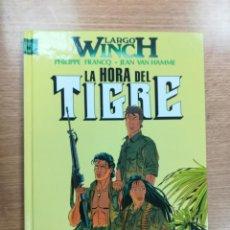 Cómics: LARGO WINCH #8 LA HORA DEL TIGRE. Lote 105238631