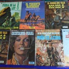 Cómics: TENIENTE BLUEBERRY NºS 1 3 4 7 8(2) 9 10 GRIJALBO. 1979.. Lote 55394463