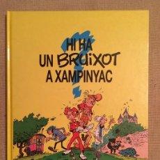 Cómics: ESPIRU I FANTASTIC,SPIRU Y FANTASIO, HI HA UN BRUIXOT A XAMPINYAC ED.JUNIOR GRIJALBO , CATALÁN 1993. Lote 105260015