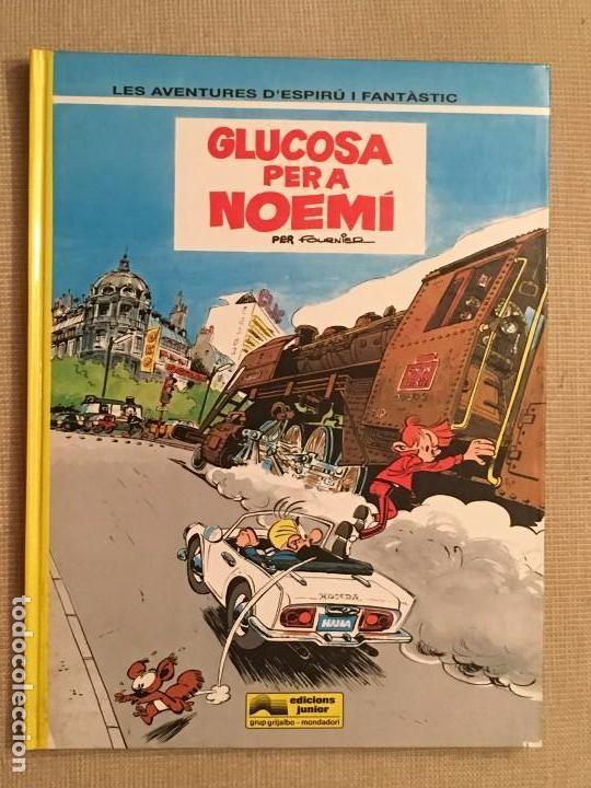 ESPIRU I FANTASTIC, SPIRU Y FANTASIO GLUCOSA PER A NOEMÍ Nº34 EDICIONES JUNIOR GRIJALBO , EN CATALÁN (Tebeos y Comics - Grijalbo - Spirou)