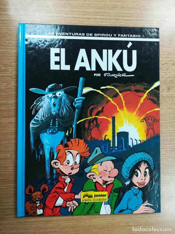 LAS AVENTURAS DE SPIROU Y FANTASIO #39 EL ANKU (Tebeos y Comics - Grijalbo - Spirou)