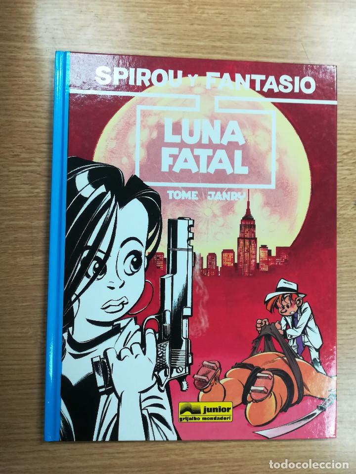 LAS AVENTURAS DE SPIROU Y FANTASIO #43 LUNA FATAL (Comics und Tebeos - Grijalbo - Spirou)
