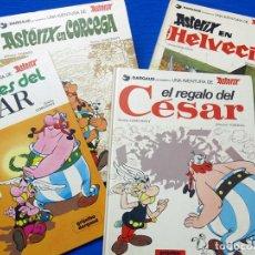Cómics: 4 ÁLBUMES ASTÉRIX: EN HELVECIA, EN CÓRCEGA, LOS LAURELES Y EL REGALO DEL CÉSAR. GRIJALBO-DARGAUD, 81. Lote 105373419