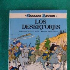 Cómics: CASACAS AZULES Nº 5 LOS DESERTORES EDITORIAL GRIJALBO. Lote 105589547