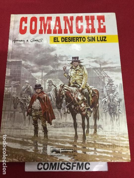 COMANCHE NUMERO 5 MUY BUEN ESTADO REF.E (Tebeos y Comics - Grijalbo - Comanche)
