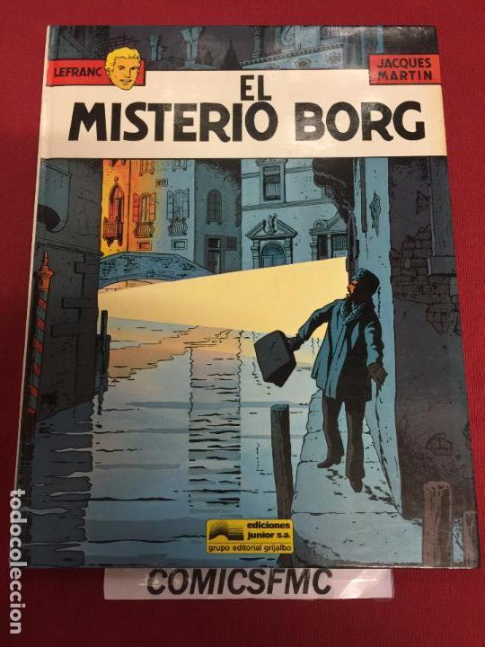 EDICIONES JUNIOR LEFRAC NUMERO 3 BUEN ESTADO (Tebeos y Comics - Grijalbo - Lefranc)