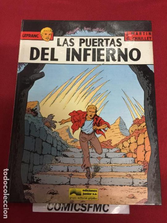 LEFRAC NUMERO 5 BUEN ESTADO REF.E (Tebeos y Comics - Grijalbo - Lefranc)