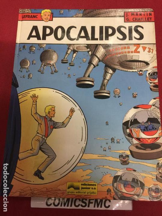 EDICIONES JUNIOR LEFRAC NUMERO 12 BUEN ESTADO (Tebeos y Comics - Grijalbo - Lefranc)