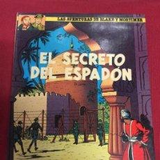 Fumetti: BLAKE Y MORTIMER NUMERO 10 BUEN ESTADO REF.E. Lote 105595199