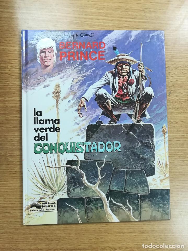 BERNARD PRINCE #8 LA LLAMA VERDE DEL CONQUISTADOR (Tebeos y Comics - Grijalbo - Otros)