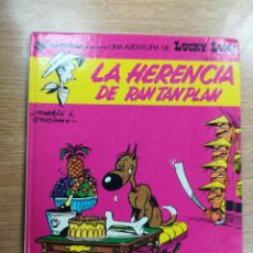 Cómics: LUCKY LUKE #6 LA HERENCIA DE RAN TAN PLAN. Lote 105730807