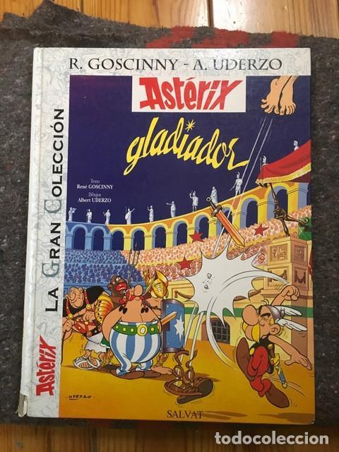 ASTERIX GLADIADOR - LA GRAN COLECCIÓN Nº 4 - SALVAT - TAMAÑO GIGANTE D3 (Tebeos y Comics - Grijalbo - Asterix)
