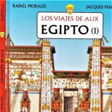 Cómics: LOS VIAJES DE ALIX: EGIPTO (COMPLETA 1 Y 2) POR JACQUES MARTIN Y RAFAEL MORALES. Lote 106089575