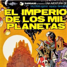 Cómics: VALERIAN AGENTE ESPACIO-TEMPORAL Nº 1: EL IMPERIO DE LOS MIL PLANETAS. GRIJALBO. Lote 106090191