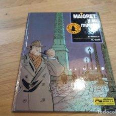 Cómics: MAIGRET Y SU MUERTO. REYNAUD. WURN. JUNIOR GRIJALBO. N° 1. BUEN ESTADO. 1992.. Lote 106624487