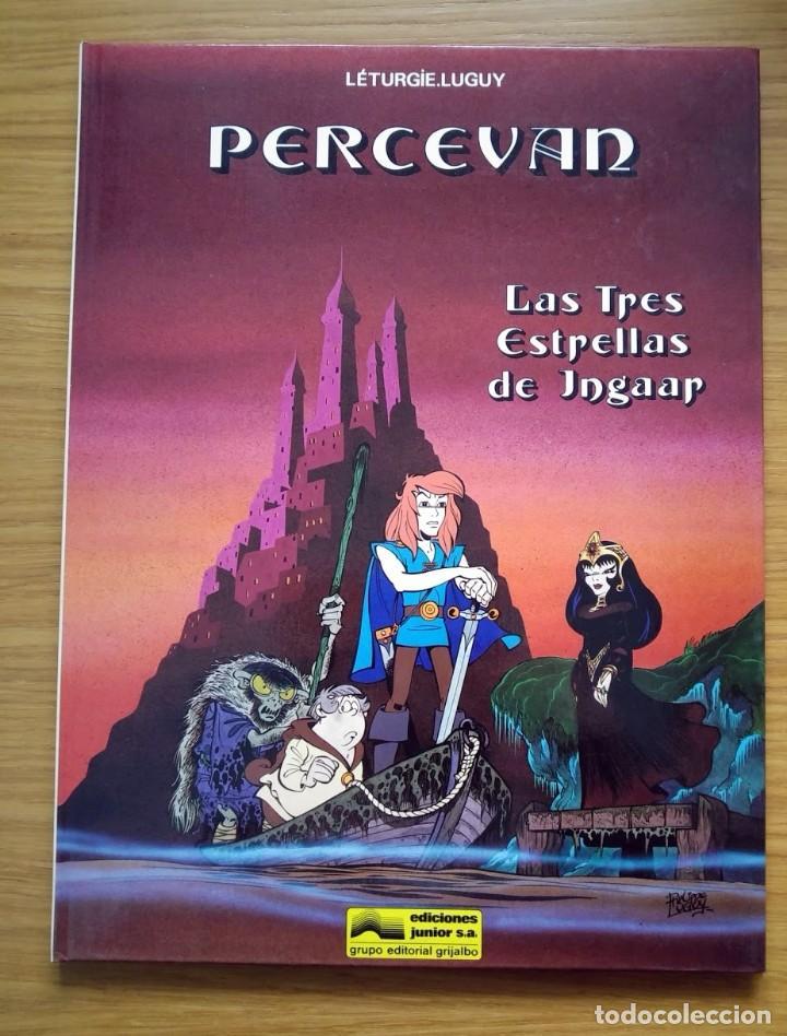 PERCEVAN LAS TRES ESTRELLAS DE INGAAR Nº 1 - GRIJALBO - 1989 (Tebeos y Comics - Grijalbo - Percevan)
