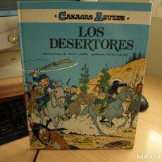 Cómics: CASACAS AZULES - LOS DESERTORES - AÑO 1986 - EDICIONES JUNIOR - TAPA DURA. Lote 107344419
