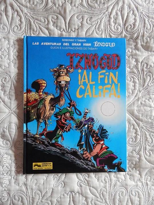 LAS AVENTURAS DEL GRAN VISIR IZNOGUD - IZNOGUD AL FIN CALIFA N. 18 (Tebeos y Comics - Grijalbo - Iznogoud)