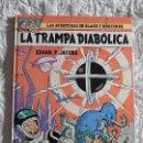 Cómics: LAS AVENTURAS DE BLAKE Y MORTIMER - LA TRAMPA DIABOLICA N. 6. Lote 155340308