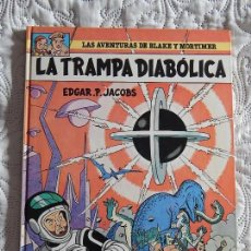 Comics : LAS AVENTURAS DE BLAKE Y MORTIMER - LA TRAMPA DIABOLICA N. 6. Lote 174227940