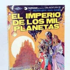 Cómics: VALERIAN AGENTE ESPACIO TEMPORAL 1. EL IMPERIO DE LOS MIL PLANETAS (MEZIERES / CHRISTIN). Lote 107659923