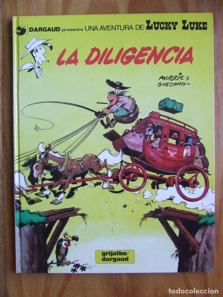 LUCKY LUKE Nº 24 - LA DILIGENCIA (Tebeos y Comics - Grijalbo - Lucky Luke)