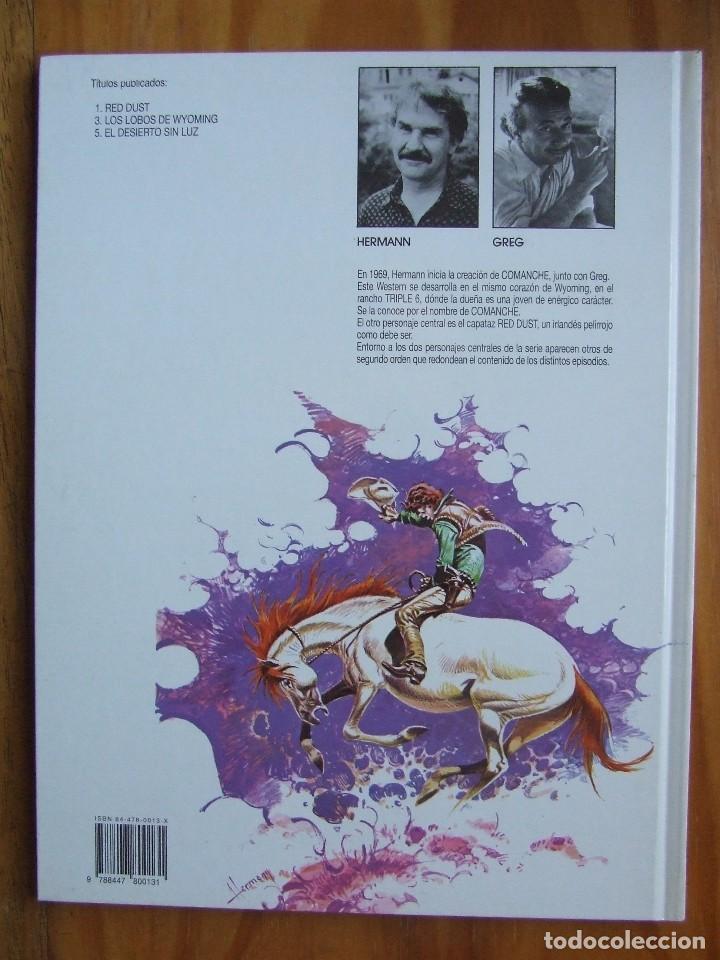 Cómics: COMANCHE Nº 1 - RED DUST - Foto 2 - 107897127