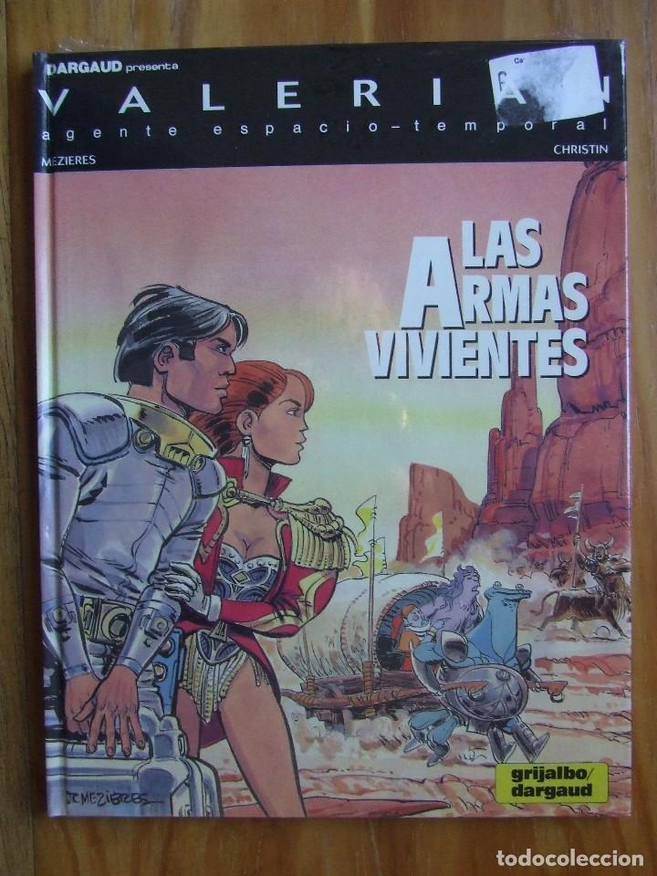 VALERIAN Nº 14 - LAS ARMAS VIVIENTES (Tebeos y Comics - Grijalbo - Valerian)