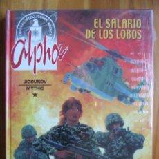 Cómics: ALPHA - PACK NÚMEROS 1, 2 Y 3. Lote 107901155