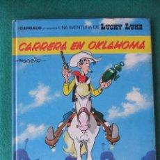 Comics : LUCKY LUKE Nº 39 CARRERA EN OKLAHOMA GRIJALBO/DARGAUD TAPA DURA. Lote 107969695