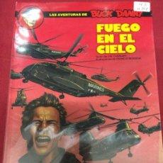 Cómics: EDICIONES JUNIOR BUCK DANNY FUEGO EN EL CIELO NUMERO 43 MUY BUEN ESTADO. Lote 108055675