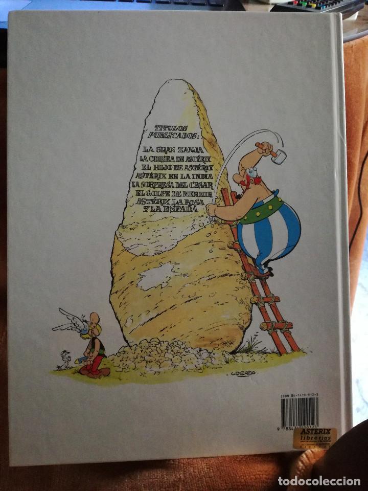 Cómics: Asterix la rosa y la espada tapa dura, Grijalbo año 1991, numero 29 - Foto 2 - 108081931