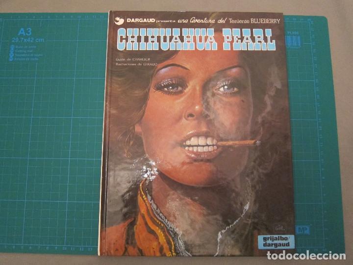 CÓMIC CHIHUAHUA PEARL. TENIENTE BLUEBERRY Nº 7. (Tebeos y Comics - Grijalbo - Blueberry)