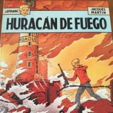 Cómics: LEFRANC. COMIC ED JUNIOR. COLOR, TAPA DURA. JACQUES MARTIN. NÚM 2 HURACÁN DE FUEGO. 1986. Lote 108445026