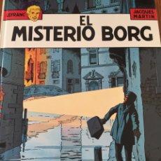 Cómics: LEFRANC. COMIC ED JUNIOR. COLOR, TAPA DURA. JACQUES MARTIN. NÚM 3 EL MISTERIO BORG. 1986. Lote 108445115