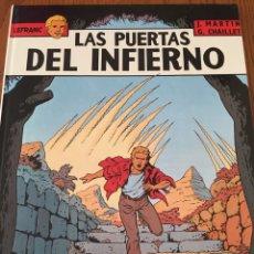 Cómics: LEFRANC. COMIC ED JUNIOR. COLOR, TAPA DURA. J MARTIN Y G. CHAILLET. 5 LAS PUERTAS DEL INFIERNO. 1987. Lote 108445272